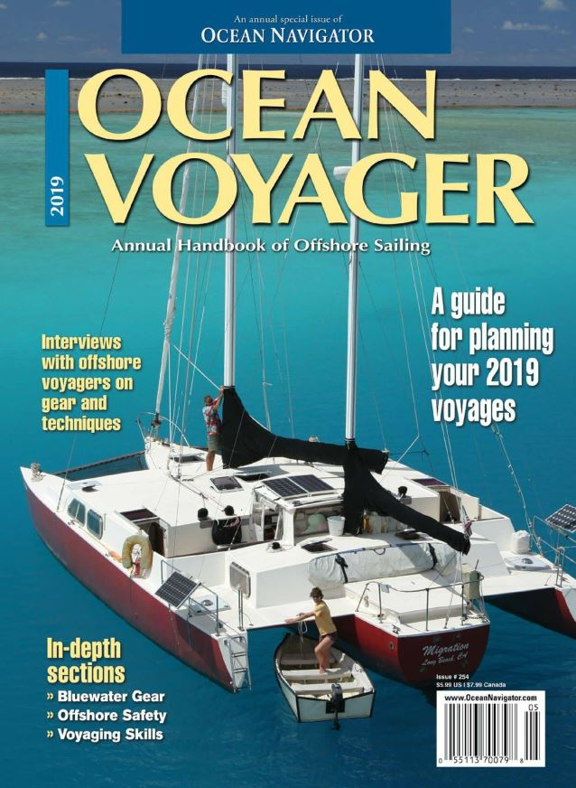 Migration on the cover of Ocean Voyager magazine